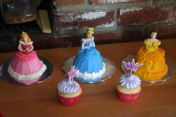 капкейки Принцессы
