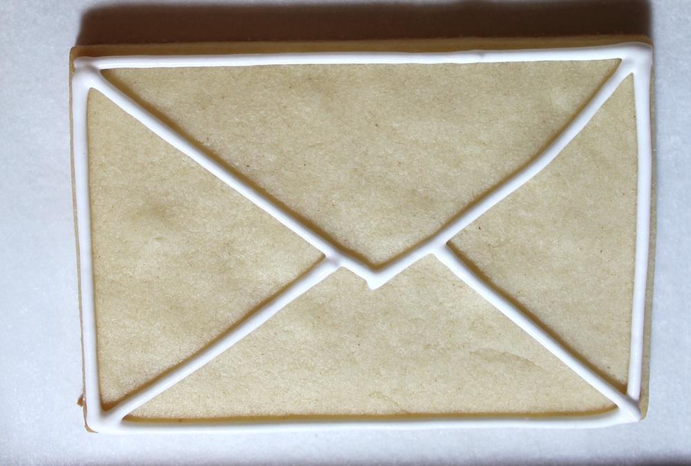 как сделать печенье-конверт рецепт