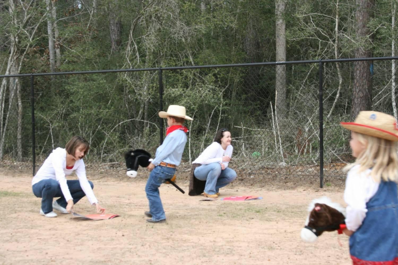 игры на день рождения ковбои