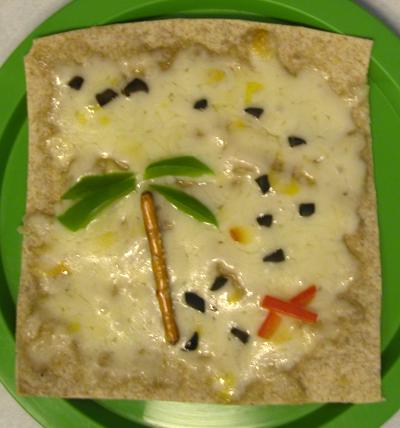 Бутерброд «Карта сокровищ»