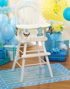 как украсить детский стул на день рождение - идеи