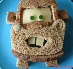 Бутерброды «Тачки»