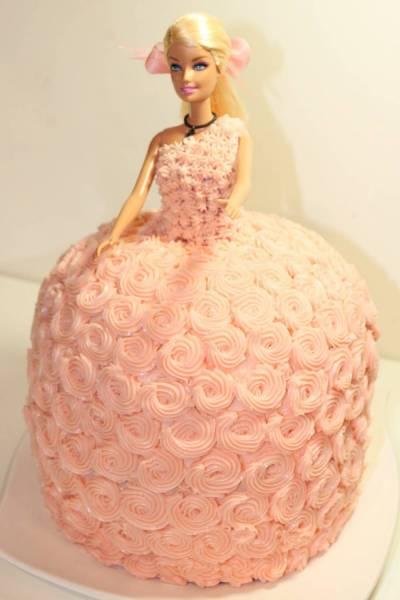Торт «Барби» (КАК СДЕЛАТЬ)