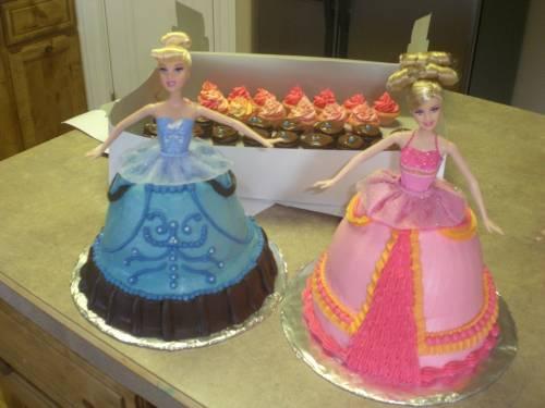 Мини-тортики «Танцующие принцессы»