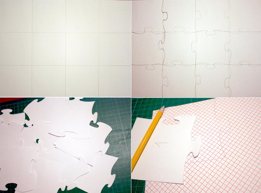 Как сделать пазлы из бумаги