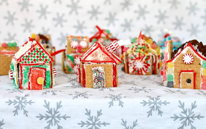Пряничный домик на Рождество рецепт