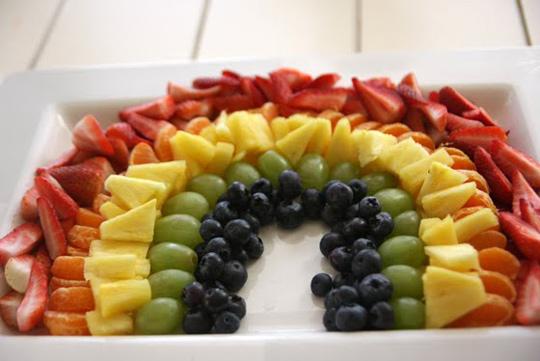 фруктовое ассорти радуга
