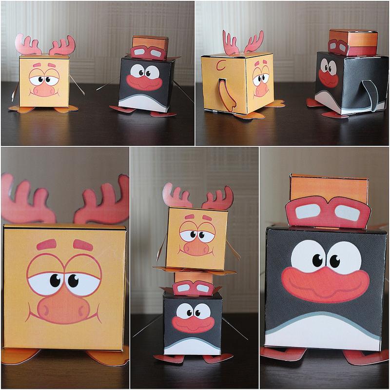 коробочки смешарики