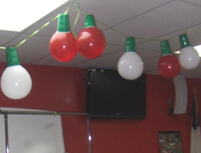 Гирлянда «Новогодние лампочки» - как сделать