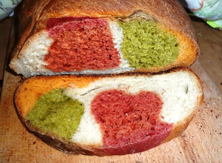 австралийский цветной хлеб рецепт
