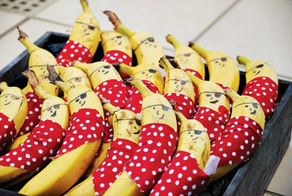 бананы-пираты