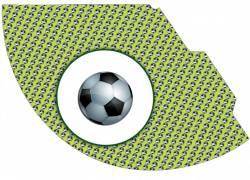Колпаки в футбольном стиле (6 шт)