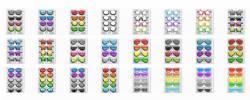 Фотобутафория «Очки, галстуки, бабочки и шляпы» в гламурном стиле