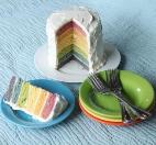 Торт «Радуга» от Тани Литвиновой (Все буде добре)
