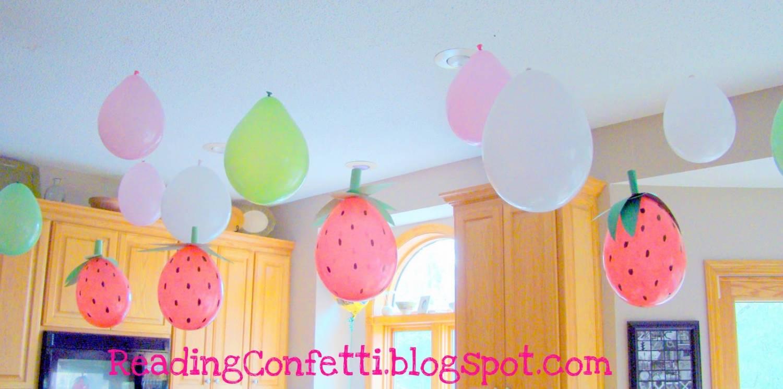 клубнички из воздушных шариков