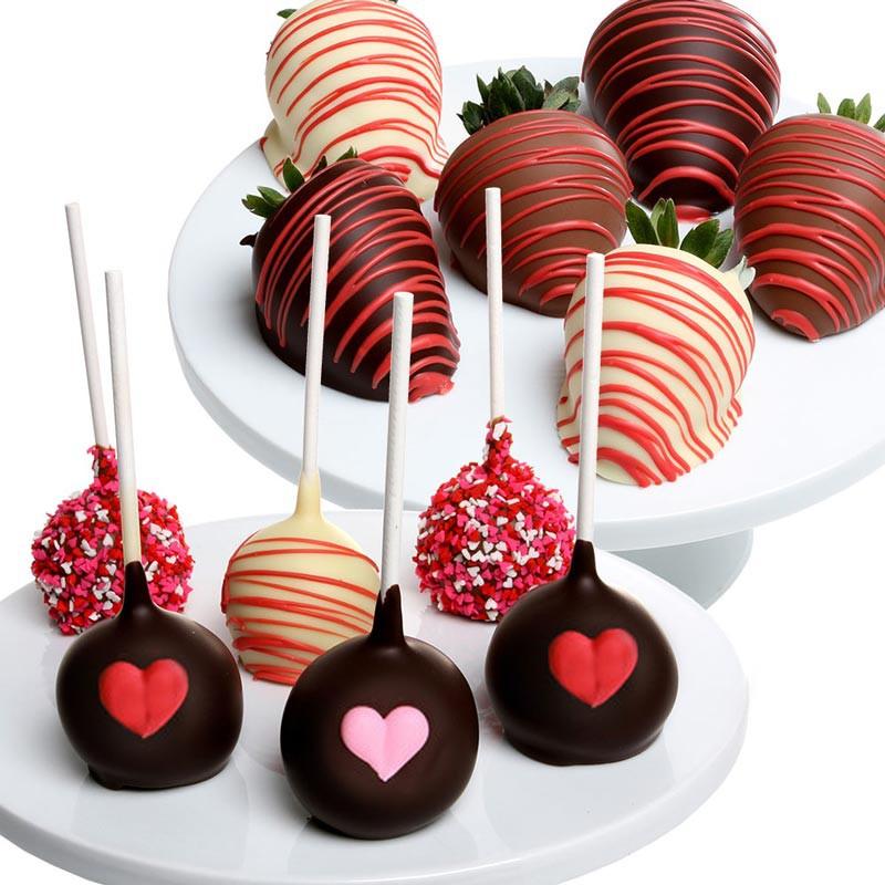 клубника в шоколаде порционная