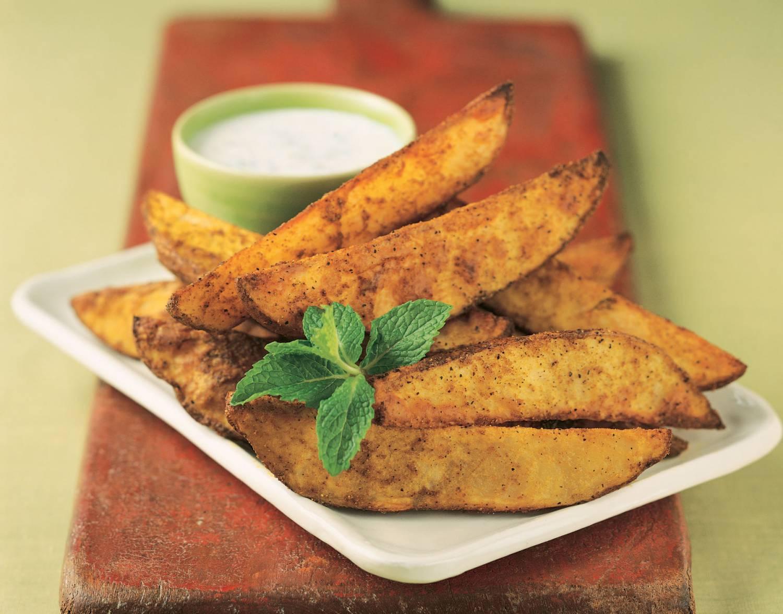 картофельные клинья рецепт
