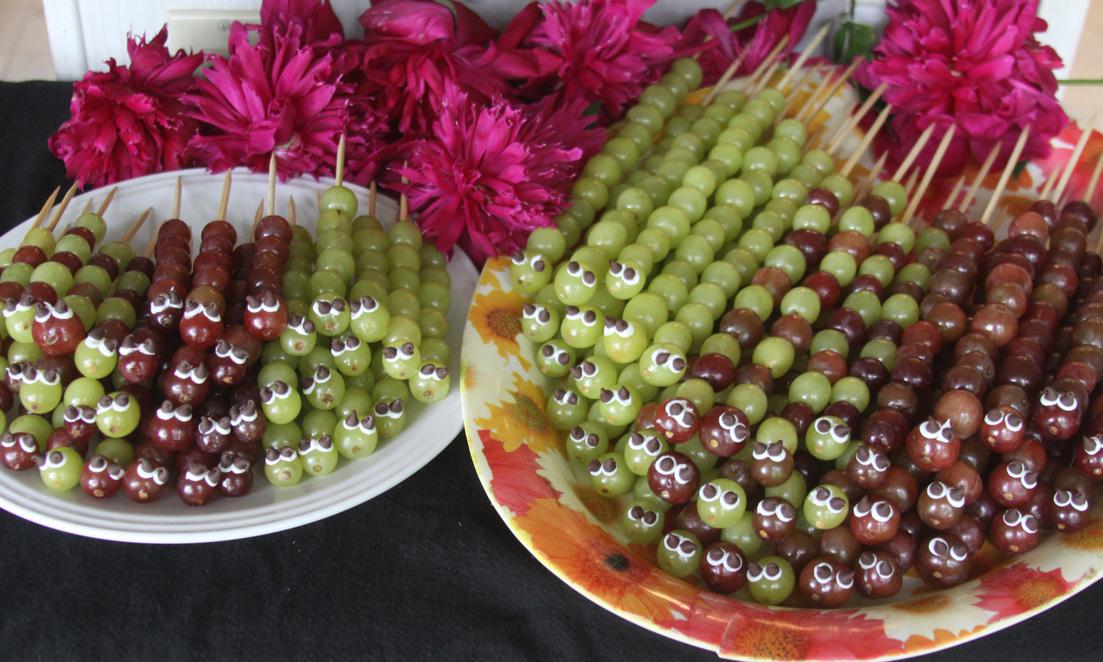 гусеницы из винограда рецепт