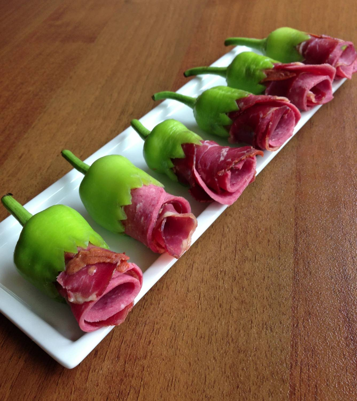цветы из колбасы