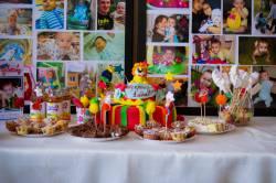 Оформление в стиле «Радуга» от сайта Устроим Праздник! Праздники дома: 1 годик Арслану