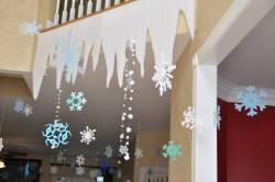Сосульки из синтепона - зимнее и новогоднее оформление