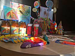 Оформление в стиле «Радуга» от сайта Устроим Праздник! Праздники дома: 1 годик