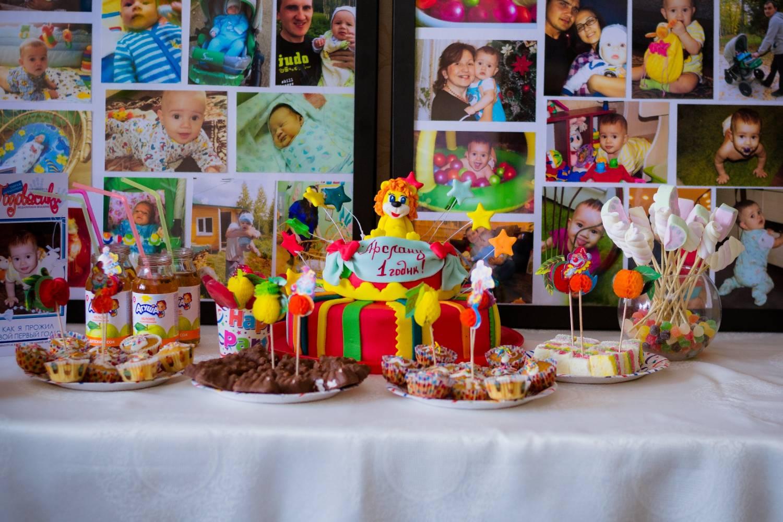 оформление дня рождения на годик с фото