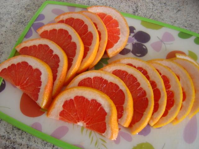 елочка из грепфрута как сделать