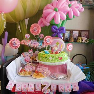 Оформление дня рождения в стиле «Малышарики» фото
