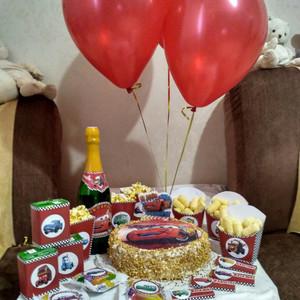 День рождения Роме 4 года в стиле «Тачки» фотографии