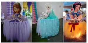 Столики-принцессы для кенди бара