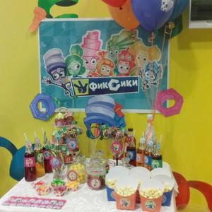 Кириллу 5 лет в стиле «Фиксики» оформление дня рождения