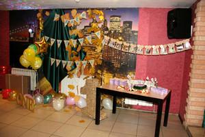 Ульяночке 1 годик в Изумрудно-Золотом стиле и Зайки Ми
